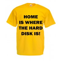 Home Is Where The Hard Disk Is