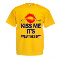 Kiss Me Its Valentines Day