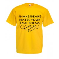 Shakespeare Hate Your Emo Poems